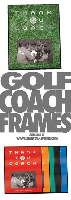 If your coach has made you the new great golf pro show him you care with this perfect gift.