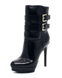 X1C53 MICHAEL Michael Kors  Mae Buckle Boot  ~ love!