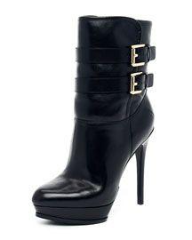 X1C53 MICHAEL Michael Kors  Mae Buckle Boot
