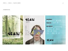 GRAIN . Festival branding & identity by nico piccirilli, via Behance
