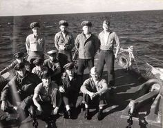 US Navy Chief Petty Officer uniforms in WWII; working hard!