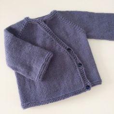 Knitting For Kids, Baby Knitting Patterns, Knitting Designs, Cardigan Bebe, Baby Cardigan, Baby Blanket Crochet, Crochet Baby, Brei Baby, Tricot Baby