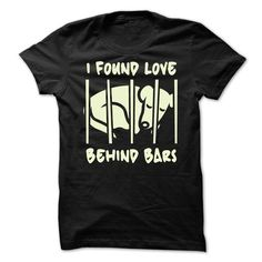 Love behind bars - #cute gift #monogrammed gift. THE BEST => https://www.sunfrog.com/Pets/Love-behind-bars.html?68278