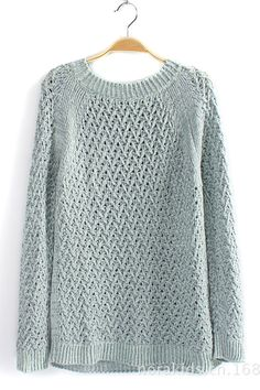 Sea Green Summer Pullover, the right people can pull this off