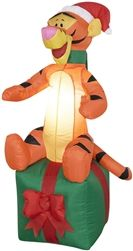 Gemmy Airblown Christmas Inflatable  (Lighted Tigger - 4 Ft Tall), $39.99