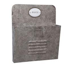 Clayre & Eef Postbak - Zilver - afbeelding 1