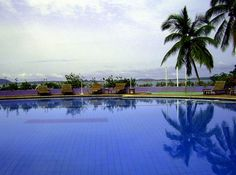 Swimmingpool after the rain - Conakry, Conakry, Guinea.