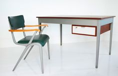 James Leonard masters desk and chair