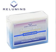 Most Advanced Whitening Soap Available - Brightens & Evens Skin Tone While Repairing & Renewing Damaged Skin #skinwhiteningsoap #relumins #lighteningsoap #beauty #skincare