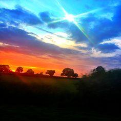 A Norfolk sunset...just gorgeous