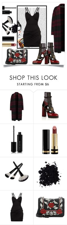 """""""Little black dress"""" by lisa-ilva-ousa on Polyvore featuring Oris, Rochas, Burberry, Marc Jacobs, Gucci and Miu Miu"""
