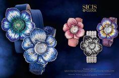 SICIS O'clock - SICIS Jewels- Nano mosaic Sapphire Glass Watches