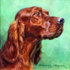 ***Frederick J. Haycock (born 1948) - Oil painting - 'Irish Eyes' - Head of