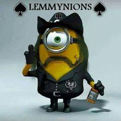 #lemmy #motorhead #minions
