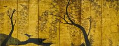 Hasegawa School (early-mid 17th century), Blossoming Cherry Trees