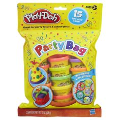 Play-doh Toy Party Bag - Includes 15 Fun Size Dough Compound Cans - Perfect Party Present: Amazon.co.uk: Toys & Games