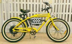 Cruiser Felt Taxi Ebike conversion - vpower 1kw motor - lifepo 48v15ah