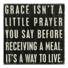 grace isn't a little prayer... at Tuvalu Home Furnishings in Laguna Beach Coastal Beach Decor Coastal Beach House Furniture Coastal Cottage Decor Nautical Accessories Vintage Coastal Beach Decor Furnishings Seashell Accessories
