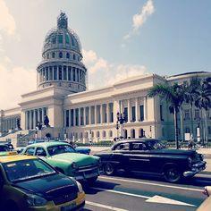 #cubalibre #cubaroadtrip #havana #elcapitol #habaneros