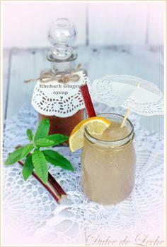 rhubarb ginger sirup/rebarborovo zzvorov sirup