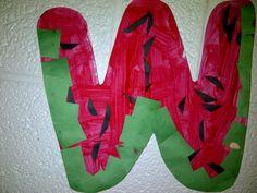 W - watermellon