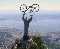 Christ de bicycle