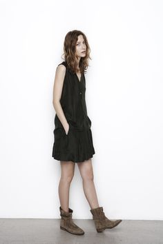 Washed Silk Sleeveless Top, Graham & Spencer Summer 2013 Casual Dresses, Short Dresses, Fashion Dresses, Dresses Dresses, Fashion Moda, Womens Fashion, Fashion Beauty, Fashion Looks, Pretty Outfits