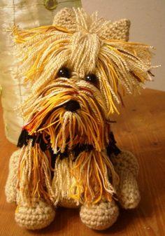 Perro Yorkshire terrier a crochet - Tutorial paso a paso - Manualidades Y DIYManualidades Y DIY