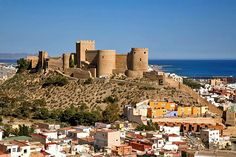 The Alcazaba in Almería, largest Muslim fortress in Spain | Top tips for visiting the historic city of #Almería | Weather2Travel.com #spain #travel #holiday
