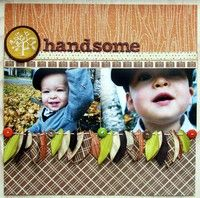 A Project by Fleursbydesign from our Scrapbooking Gallery originally submitted 01/12/12 at 08:14 PM