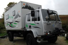 DAF 45 4X4 EXPEDITION CAMPER MOTORHOME OVERLAND/ARCTIC READY 11K T&T WINCH | eBay