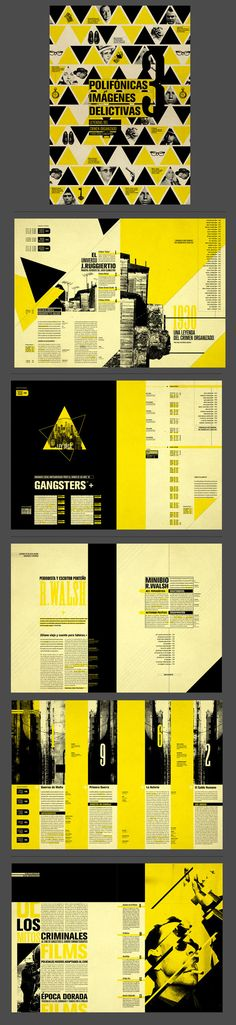 Polifónicas Imágenes Delictivas | Editorial by Tatiana L., via Behance