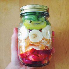 Delish in a mason jar!