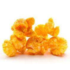 Cheesy Cheddar Popcorn   whatgiftshouldiget.com