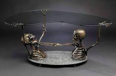 creepy table