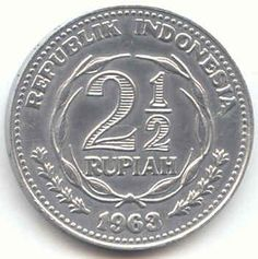 koin 2 setengan rupiah tahun 1963 International Flags, Old Commercials, Dutch East Indies, World Coins, Coin Collecting, Science And Nature, Old Pictures, Traditional Art, Vintage Photos