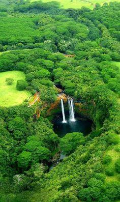 Wailua Falls, island of Kauai, Hawaii. Wailua Falls, island of Kauai, Hawaii. Kauai Hawaii, Hawaii Travel, Oahu, Hawaii Usa, Lihue Hawaii, Napali Coast Kauai, Kapaa Kauai, Mauritius Travel, Hawaii Life