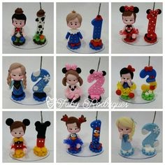 Discover recipes, home ideas, style inspiration and other ideas to try. Fondant Numbers, Fondant Letters, Number Cake Toppers, Fondant Toppers, Cute Polymer Clay, Polymer Clay Dolls, Chocolate Diy, Clay Figurine, Fondant Tutorial