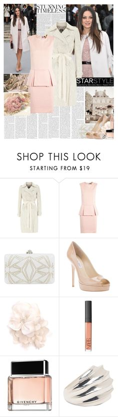 """Mila Kunis"" by hannahrox313 ❤ liked on Polyvore featuring Christian Dior, MANGO, Coast, MSGM, Jimmy Choo, Matthew Williamson, NARS Cosmetics, Givenchy and Witchery"