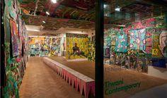Francisco Vidal Turns Machetes, Machines into Art in London