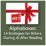 {12 Days of Literacy} Alphaboxes: 14 Strategies to Use Before, During, & After Reading | Learning Unlimited | Research-based Literacy Strate...