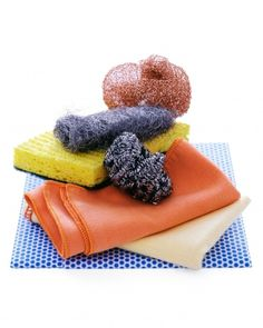 Cleaning Appliances:   A buildup of grime on kitchen appliances calls for a bit more elbow grease. (different ways for different appliances)