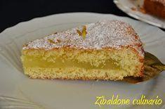 Questa torta è nel mio cuore da sempre, erano anni che non la preparavo e nel mio piccolo blog mancava all'appello. Così per ovviare a q... Lemon Recipes, Sweet Recipes, Cake Recipes, Italian Cake, Italian Desserts, Tolle Desserts, Best Italian Recipes, Cake Fillings, Lava Cakes
