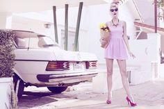 Photo by Valeria Markulin  Vintage shoot- Lulu Martins -Like dreamers do