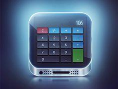 Calculator Icon by Dmitry Nohrin
