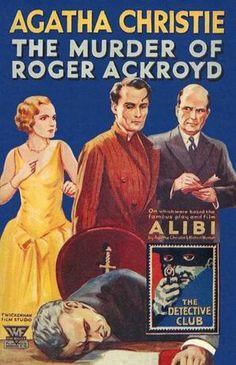 The Murder of Roger Ackroyd by Agatha Christie.