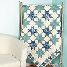 Simply Stellar Quilt Kit by Fat Quarter Shop, via Flickr