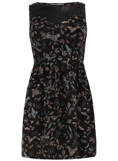 Petite black twilight dress £22.00