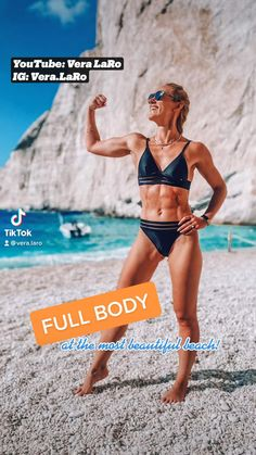 Slim Waist Workout, Butt Workout, Fitness Workout For Women, Health And Fitness Tips, Beach Workouts, Flexibility Workout, Fit Board Workouts, Workout Challenge, Workout Videos