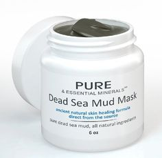 Dead Sea Mud Face Mask - Ancient Natural Facial Mask and Skin Care Treatment for Women, Men and Teens - Organic Mud Mask Offers Gentle Facial Exfoliator, Natural Moisturizer and Deep Cleansing to Restore Your Skin's Natural Radiance - This Renowned Anti-Aging Mud Mask Heals Dry & Oily Skin